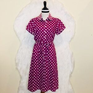 Boden Polka Dots Dress